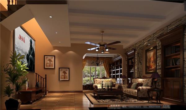 佳乐国际地下客厅细节效果图-成都高度国际装饰