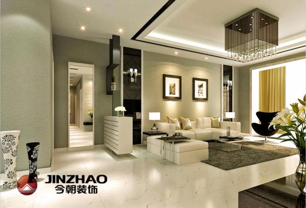 简约而不简单,无论是家具还是配饰均以其优雅、唯美的姿态,平和而富有内涵的气韵。考虑房高原因没有做过多复杂的造型,包括电视背景墙也是以最简单的设计打动客户