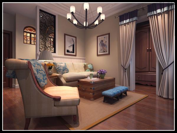 二层客厅效果图展示