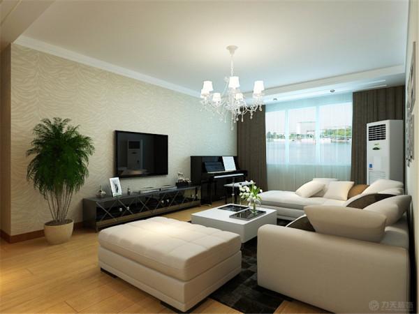 此户型为海河大观高层标准层户型三室两厅两卫一厨 ,建筑面积是158㎡,该户型的设计风格为现代简约风格。