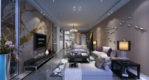 海棠湾 110平米 现代简约 三室