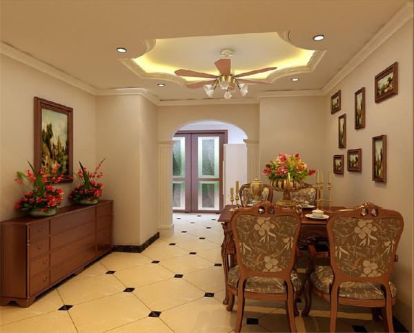 同欧式的居室有的不只是豪华大气,更多的是惬意和浪漫。通过完美的典线,精益求精的细节处理,带给家人不尽的舒服触感,实际上和谐是欧式风格的最高境界。