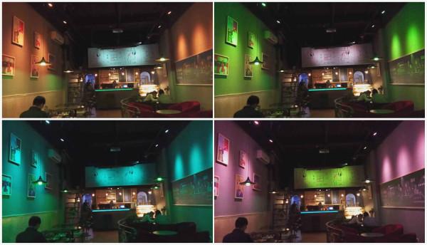麦极客智能照明系统,咖啡厅照明,可以调色的灯哦
