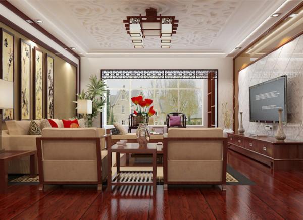 设计理念:各种各样的中式化的摆件与家具,传统与新中式的差别在于一个复杂一个简单化。同样讲究空间层次感,在传统的审美观念上新中式又得到了新的诠释,将有形的隔断化作无形,让家具散发出自身的韵味足以。