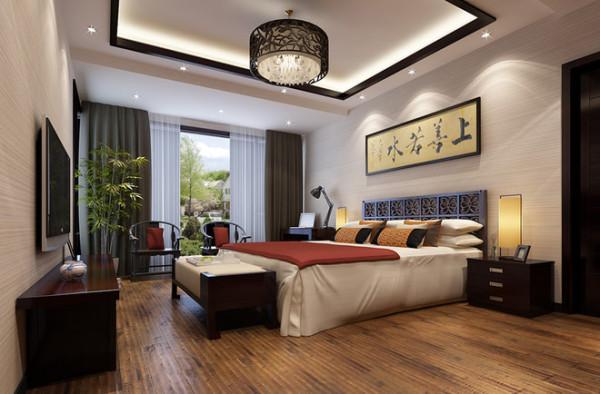 中式的卧室,总有一些宫殿的感觉在其中……