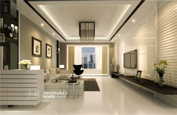 简约而不简单,无论是家具还是配饰均以其优雅、唯美的姿态,平和而富有内涵的气韵。考虑房高原因没有做过多复杂的造型,包括电视背景墙也是以最简单的设计打动客户。