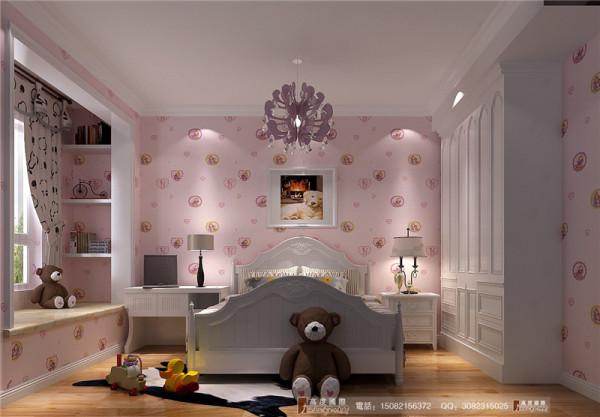 泰悦湾儿童房细节效果图-成都高度国际装饰