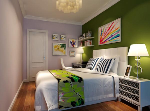 儿童房根据客户基本需求,按照正常的格局布局,墙面的硅藻泥、白色家具、柚木色的复合地板,通过儿童喜欢的色彩来体现出房间的简洁、明快的效果