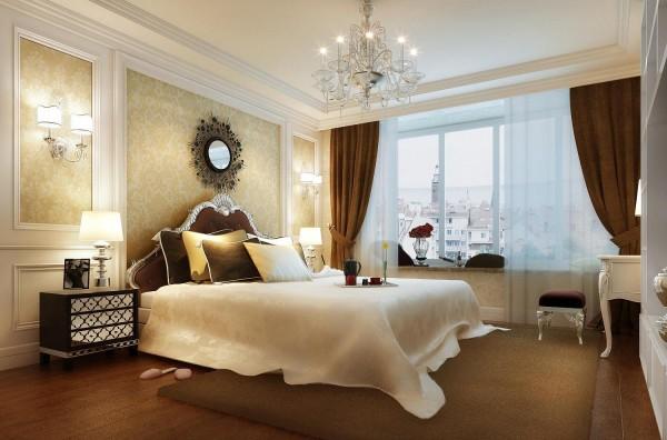 简约 欧式 三居 白领 小资 卧室图片来自北京实创大胖在鲁能7号院溪园