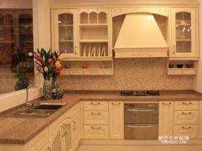 欧式 田园 小清新 二居 厨房 厨房图片来自泥巴公社设计师李轶在自然田园 碧桂园威尼斯城的分享