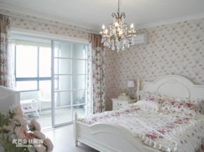 欧式 田园 小清新 二居 卧室 卧室图片来自泥巴公社设计师李轶在自然田园 碧桂园威尼斯城的分享