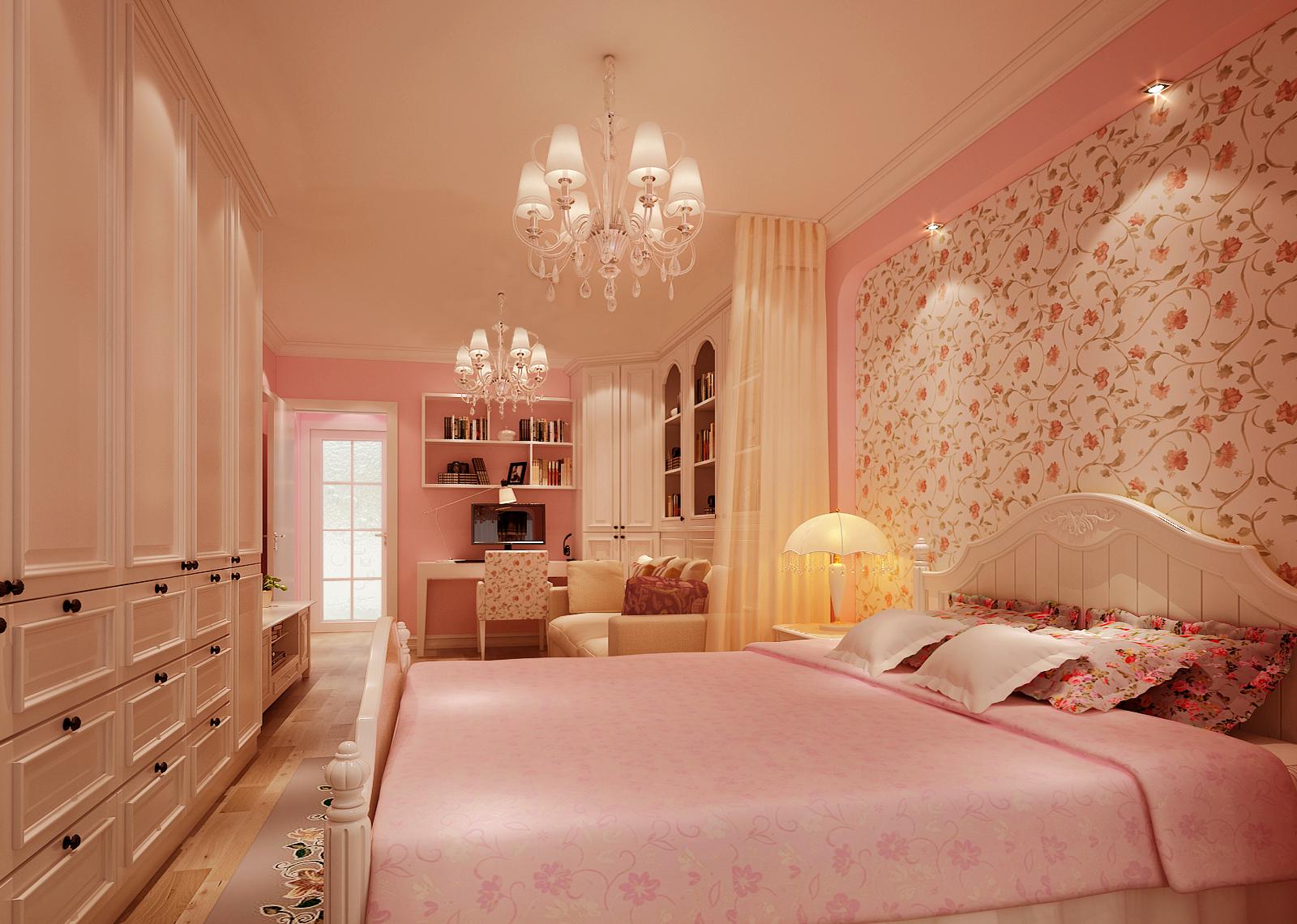 田园 二居 白领 80后 小资 卧室图片来自装饰装修-18818806853在天健.上城韩式田园风格的分享