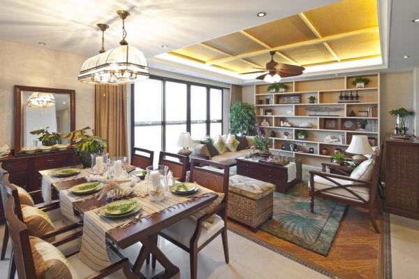 合肥家装推荐川豪装饰。本案为滨湖万科样板房装修案例。简洁的设计搭配异域风情的软饰,让整个生活的环境弥漫着,浪漫,舒适,温馨的味道。