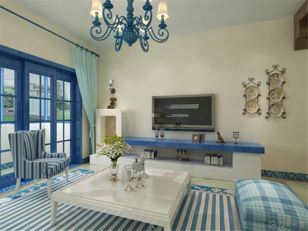 建德盛世华府一期小高层标准层B02a户型图2室2厅1卫1厨 84.25㎡。我设计的是一套地中海风格的作品。
