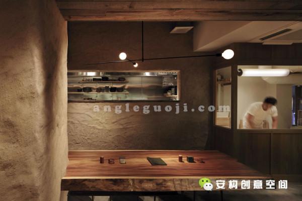 餐厅简约原始自然禅意日本设计小资