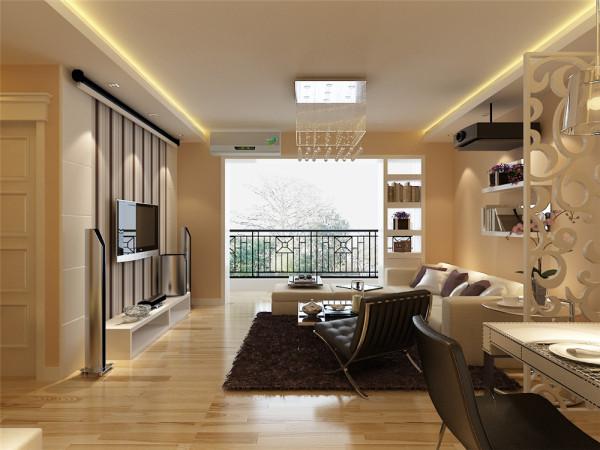 简洁和实用是现代简约风格的基本特点。在功能方面,客厅是主人品味的象征,体现了主人品格,地位,也是交友娱乐的场合,