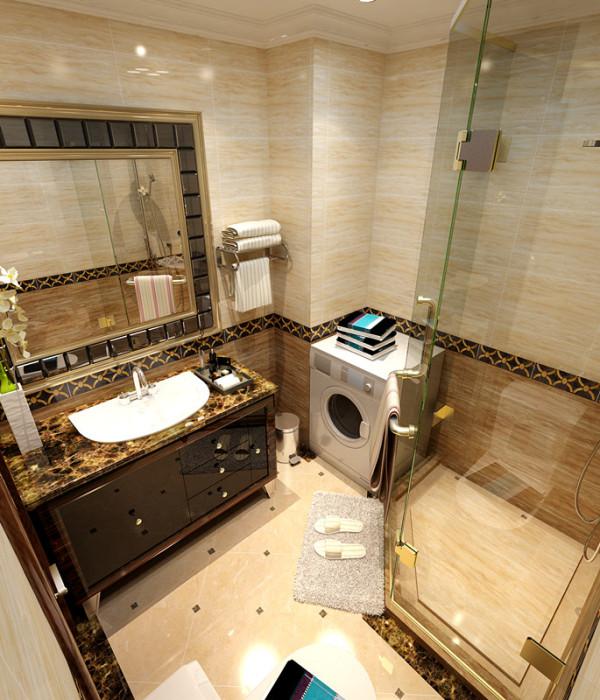 欧式 卫生间图片来自百家装饰小王在荣盛爱家丽都124平的分享