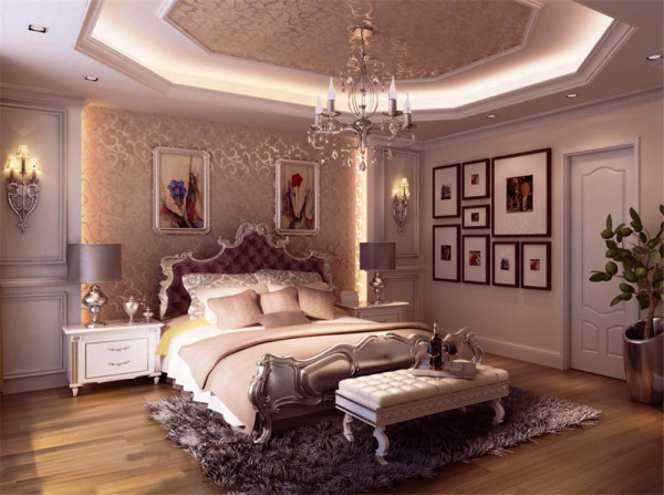 首先根据房屋结构满足业主的人性使用空间功能做了以下调整。进屋门厅设计,敞开是厨房设计。调奢华为主,大量运用到一些石材与石膏线的结合。。