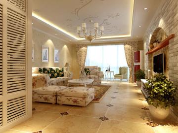 华美跃层,时尚的家