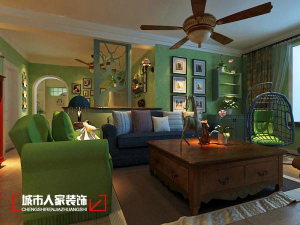 客厅位置设计效果