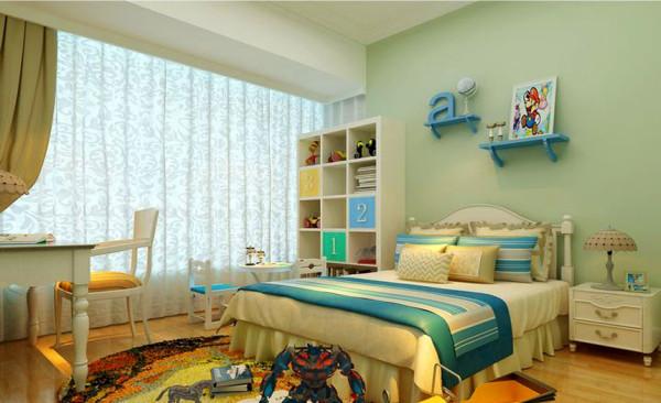 温馨舒适的儿童房