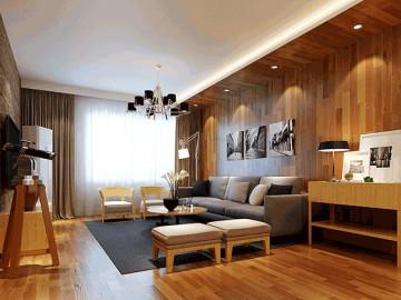 24万160平新房现代简约实木装修