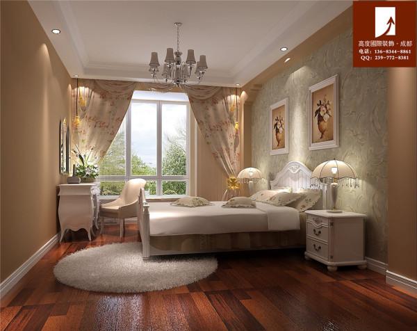 九号公馆卧室设计—190平米—高度国际