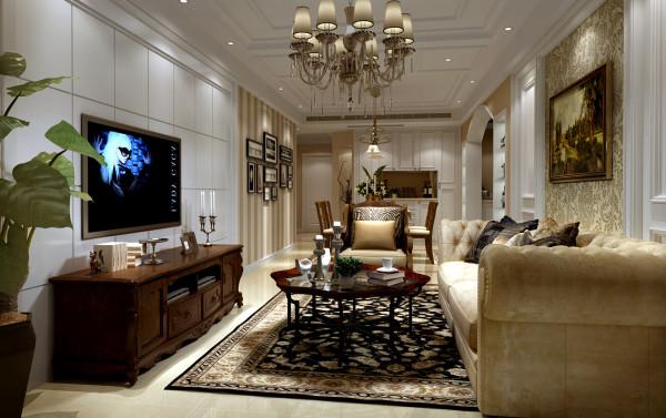 上海虹口区金轩大邸三居室户型装修设计方案展示——上海聚通装潢