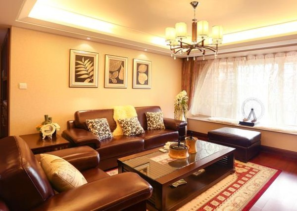 客厅非常温馨舒适