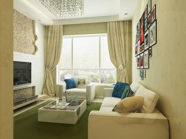 【今朝装饰www.xajzzs.cn】:西安华府·西城港湾-74平二居室--简约风格(本小区装修设计96套)