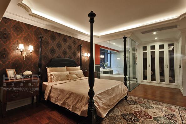 别墅 欧式 卧室图片来自郑鸿在红韵悠长-浪琴半岛花园的分享