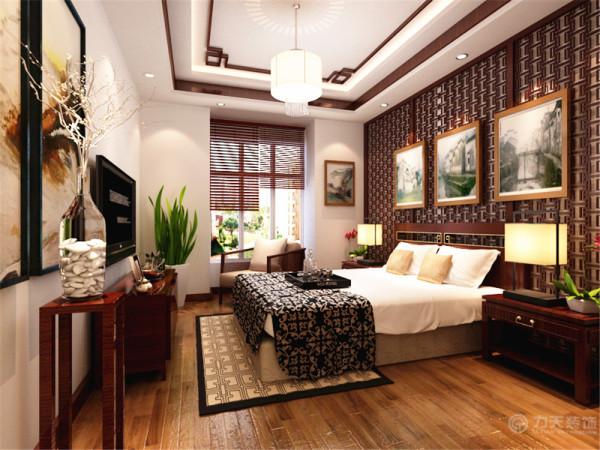 整体装饰就是这样,体现了中式的特色,家具全部采用木头,展现了浓重的中式特点。