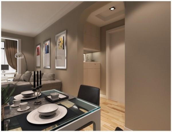 家具多以深色为主,质朴的设计风格,在生活中更加实用、更富有现代感。