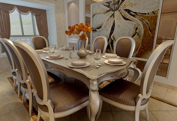 房设计简欧风格三居80后小资餐厅装修效果图片 装修美图 新浪装修高清图片