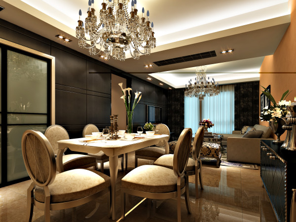 舒适浪漫的欧式餐厅