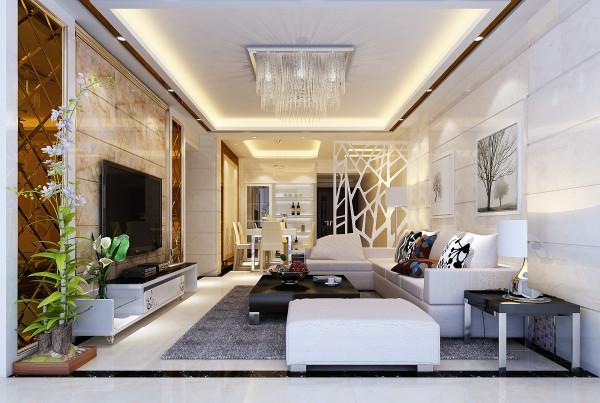 现代简约明朗的客厅