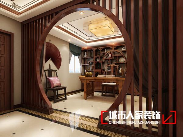 书房位置的设计效果