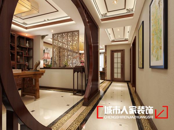 走廊的整体设计效果