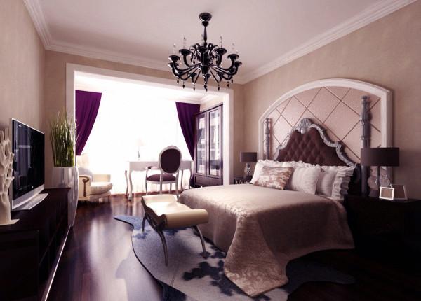 卧室宜安排在朝阳的方向,主人房则应选择最大的卧室。卧室门不宜相对室内的入墙柜或立柜最好能储存所有的衣物,令居室整齐有序。