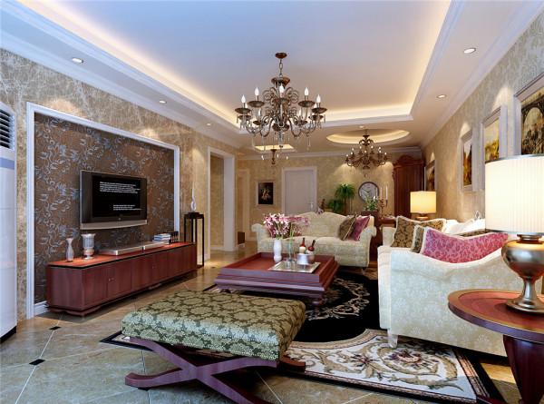 设计说明: A1:客厅餐厅在一个整体空间,首先通过石膏吊顶来区分各空间。