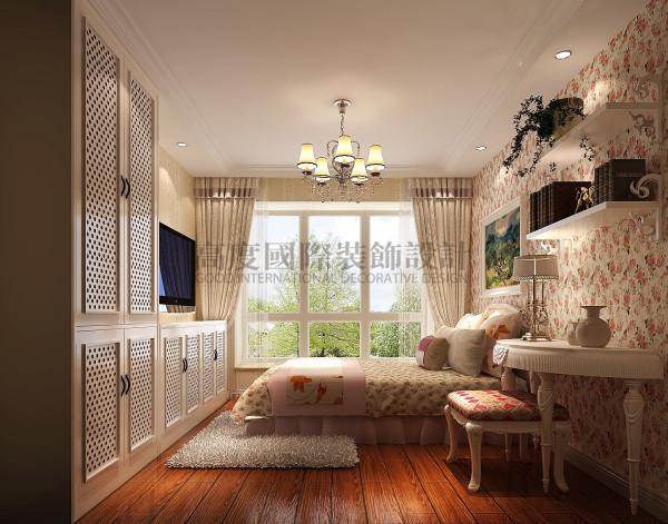 保利百合花园—78loft—田园风 成都高度国际装饰 卧室