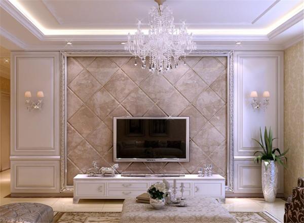视听娱乐区是客厅的一个重要的功能区,它的设计要考虑到许多的方面,如电视屏幕与座位之间的距离、角度和高度,电视灯的位置,音响设备与家具的位置等,这些都需要反复的调试才能确定。