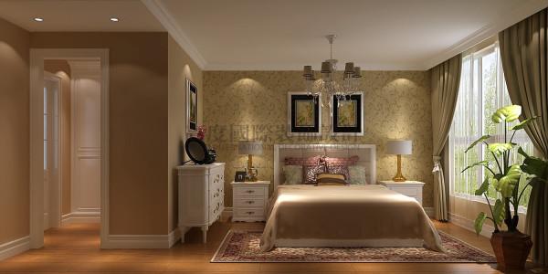 红树湾—123平米—现代简约风格 成都高度国际装饰 主卧室