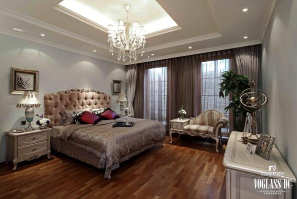 保利西山林语软装配饰设计之卧室