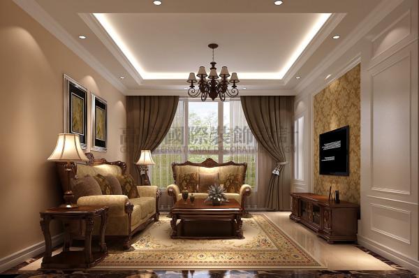 红树湾—123平米—现代简约风格 成都高度国际装饰 客厅