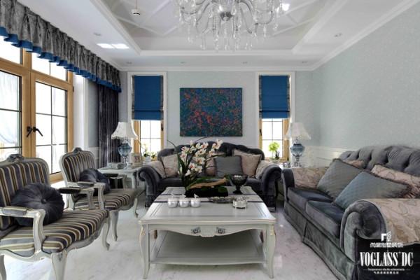 保利西山林语软装配饰设计之客厅