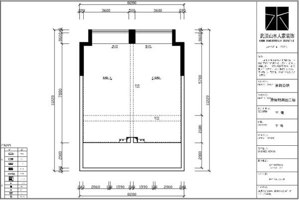 二楼原始勘测图