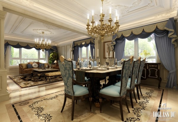 金科王府法式风之餐厅