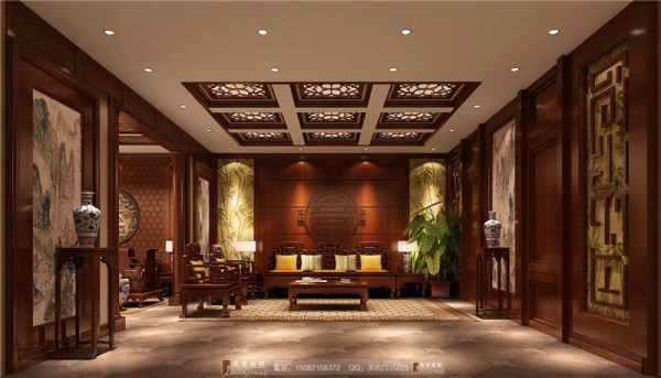万科五龙山地下家庭室细节效果图-成都高度国际装饰