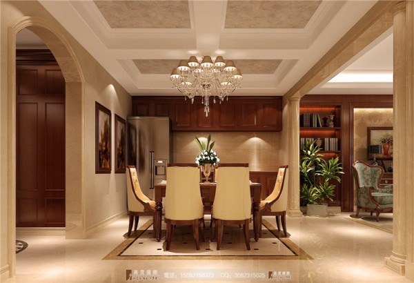 万科五龙山餐厅室细节效果图-成都高度国际装饰